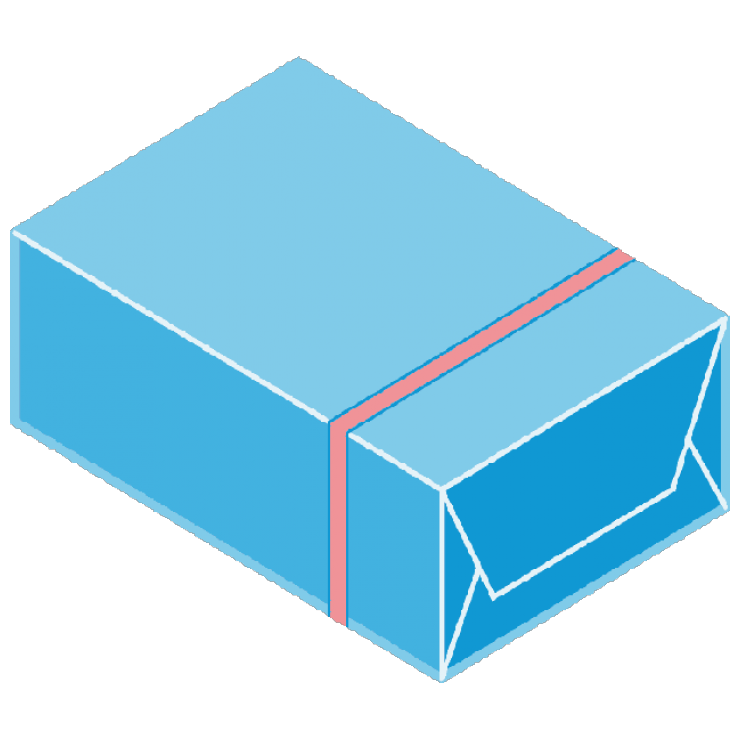 overwrapping pack diagram