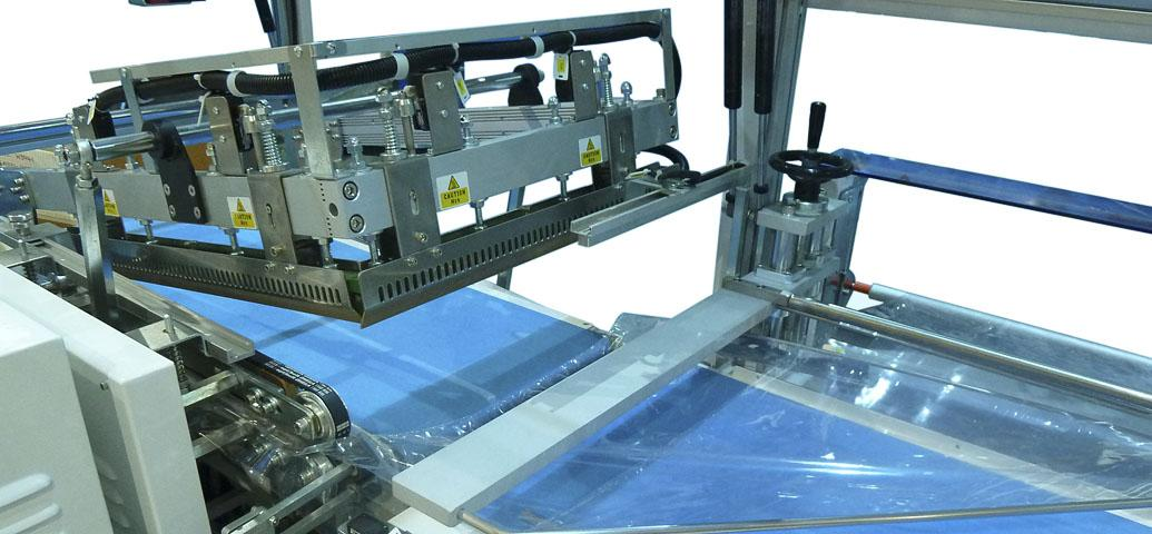MES-700 series shrinkwrapping machine