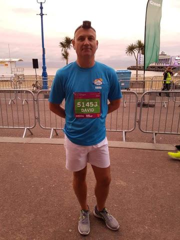 David Aimson runs Supernova 5K for charity