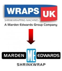 Wraps UK rebrand to Marden Edwards Shrinkwrap