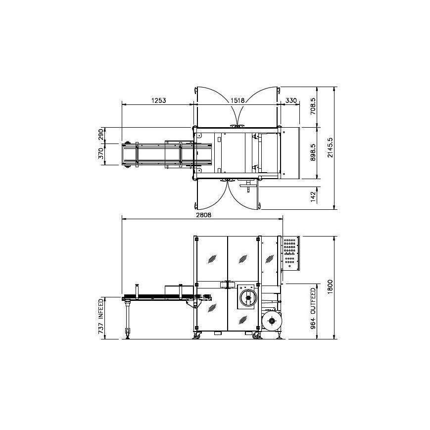 B Series engineering drawings