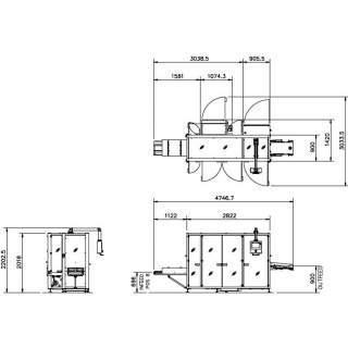 ME 120B Series engineering drawings