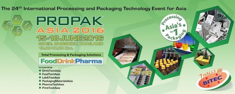 Propak Asia 2016 Show Banner