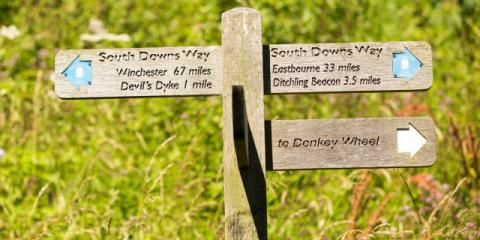 British Heart Foundation South Downs Way Bike Ride for Charity