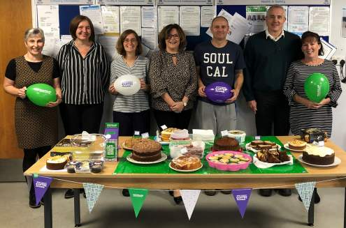 Macmillan 'Coffee Morning' Bake Sale at Marden Edwards