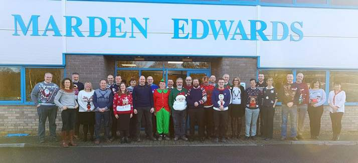 Save the Children Christmas Jumper Day at Marden Edwards