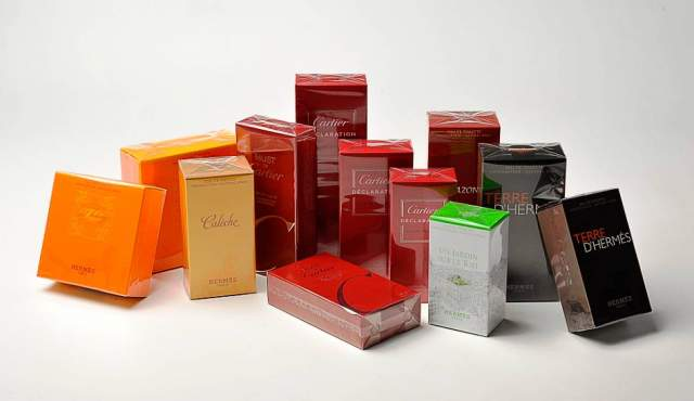 Cartons of Cosmetics