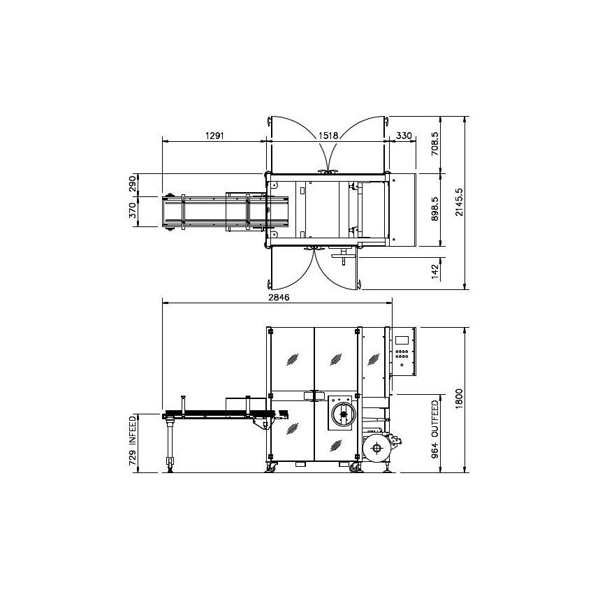 BX Series engineering drawings