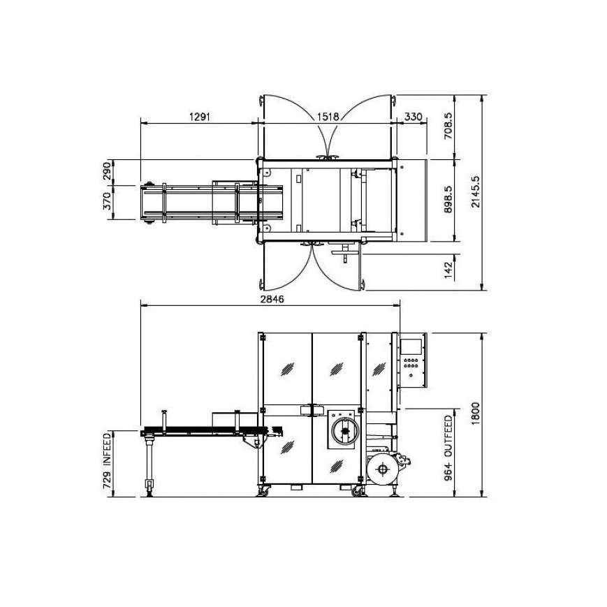 LX Series engineering drawings
