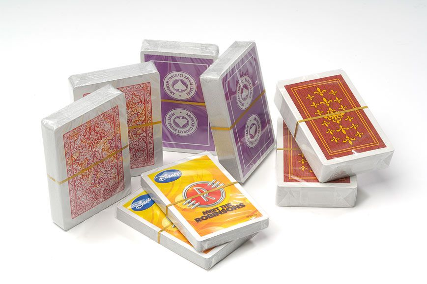 Playing Cards Overwrapped